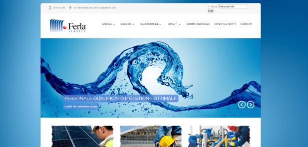 Ferla Service srl - realizzazione sito web
